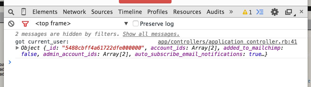 Ruby Console.log